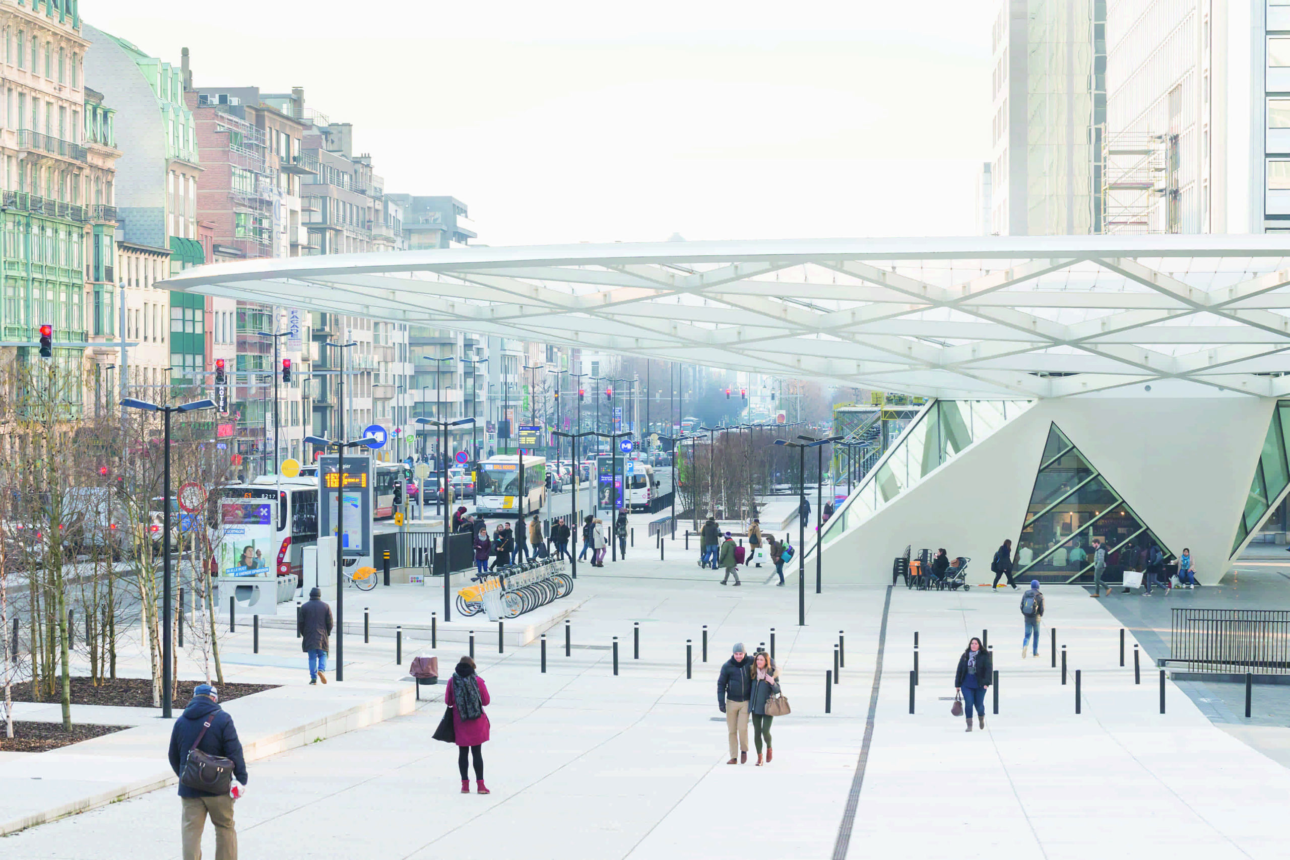 boydens-RENOVATION AND REDESIGN OF THE ROGIER SQUARE AND UNDERGROUND STATION