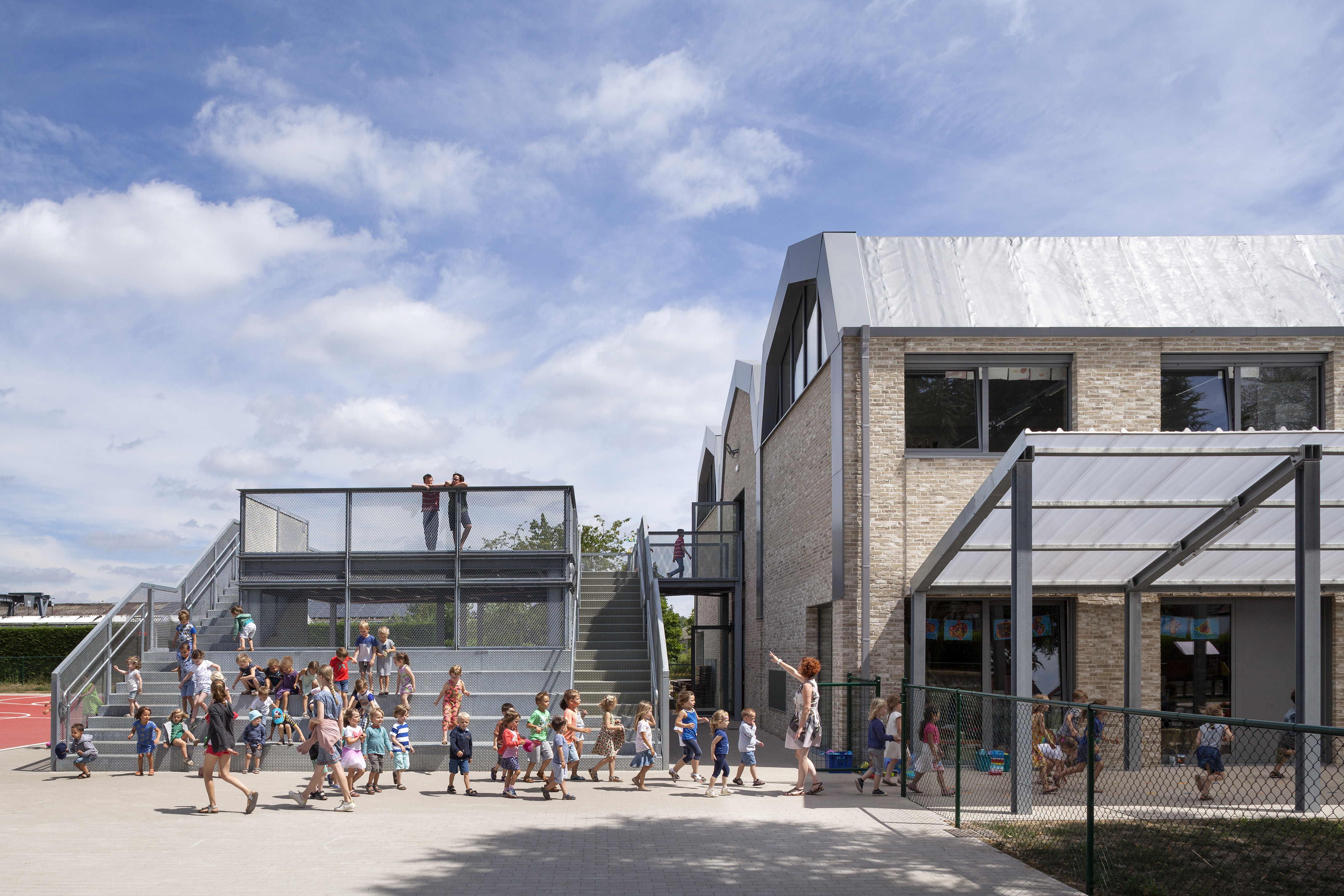 Marlies Rohmer, Basisschool de Zandloper, Zomergem, Belgi??, 2017