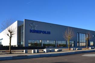 BIOSCOOPCOMPLEX KINEPOLIS   ONTWORPEN VOLGENS BIM