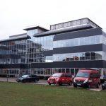 office building 7 pegasus park in diegem