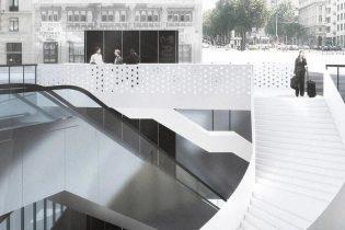 Renovatie en herinrichting van het Rogierplein en metrostation Rogier
