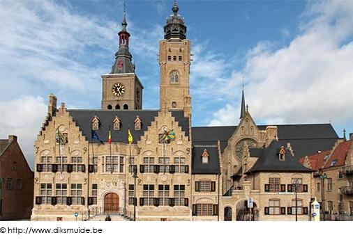 Stadhuis Diksmuide copyright