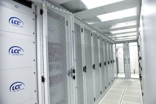 Cooling and electrical works datacentre