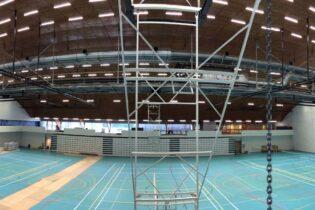 Cải tạo trung tâm thể thao Bloso Netepark tại Herentals