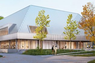 D&B sports hall KBC KU Leuven: beach hall with fitness and sports medical facilities