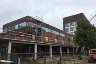 Nouveau Campus mutifonctionnel DMB et hôtel pour étudiants  pour la Haute école PXL