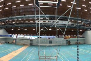 Renovation sports hall Bloso Netepark