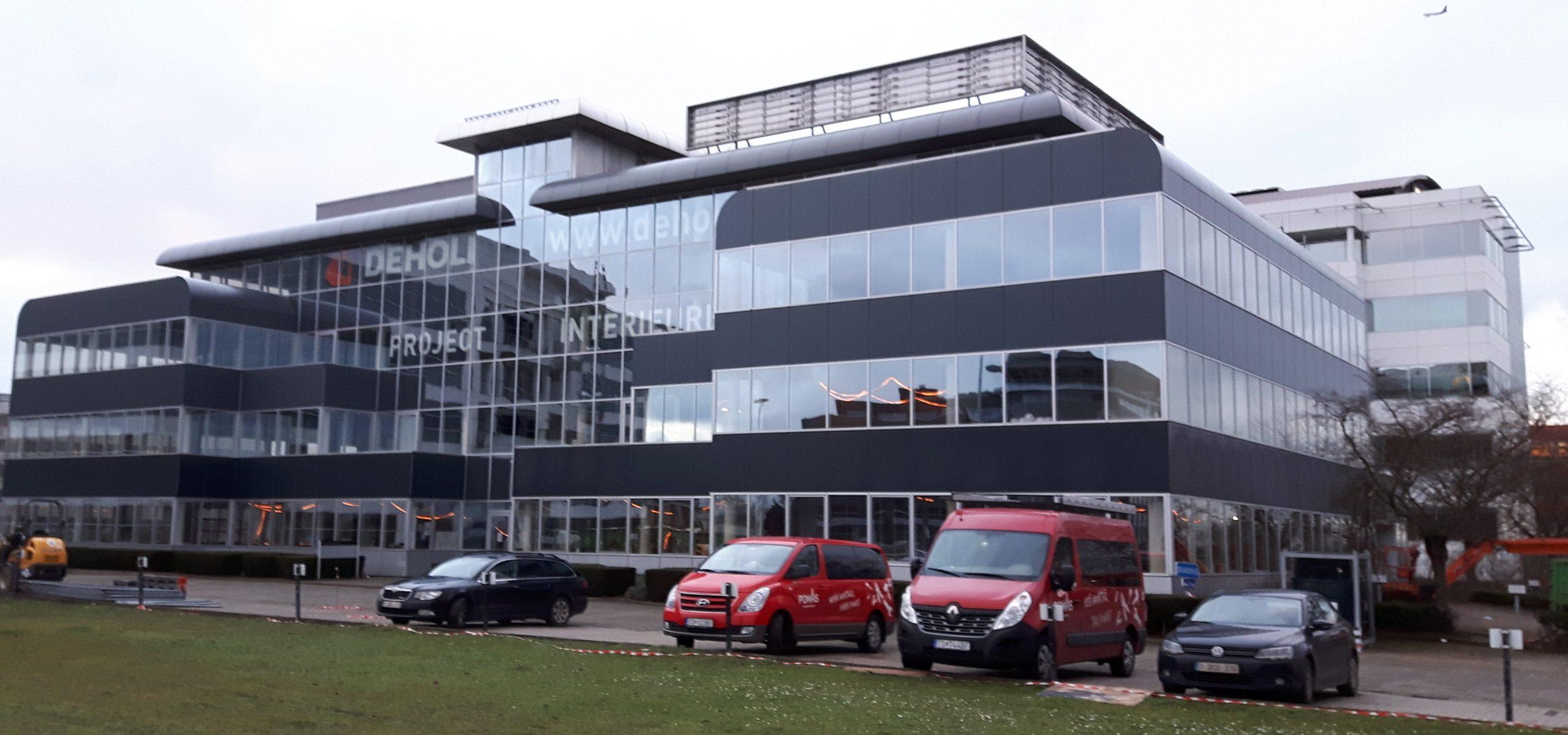 boydens-Rénovation de l'immeuble de bureaux 7 au site Pegasus