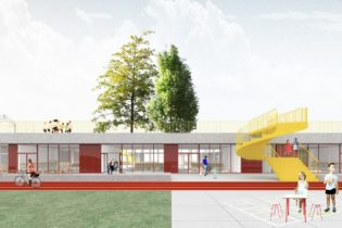 Dominiek Savio school building for children with a physical disability