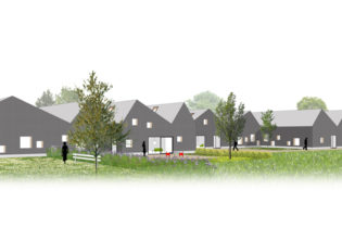 Housing units for visually impaired and blind 'Licht & Liefde'