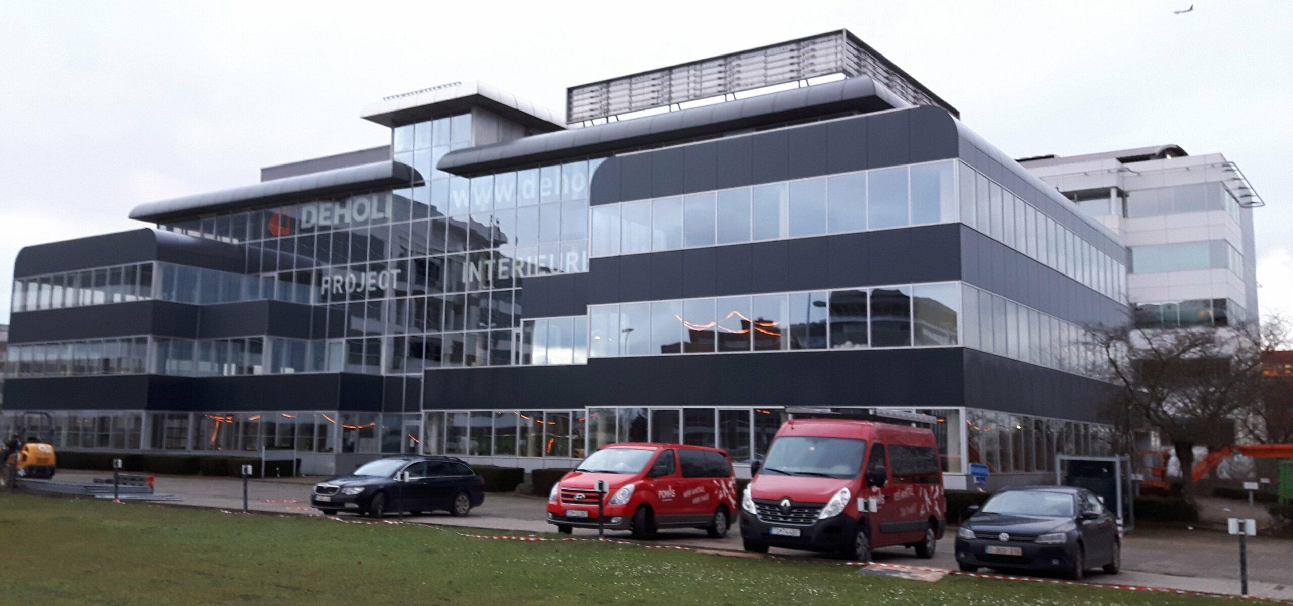 boydens-Cải tạo khối văn phòng 7 Pegasus Parc