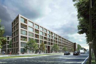 'LUCA II' replacement construction of social housing flats on 'Luchtbal' site