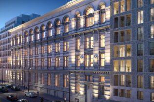 Dự án khu dân cư và khách sạn 'Lebeau', rue de la Paille 1 13 et rue Lebeau 2 18, 1000 Brussel (BE)