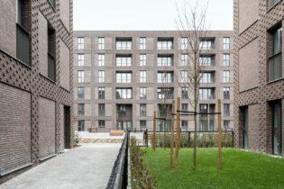 Xây dựng, cải tạo các căn nhà xã hội tại 'Luchtbal site LUCA II', Noorderlaan 200 220, Canadalaan 201 223, Manchesterlaan 5 9, 2030 Antwerpen, Bỉ