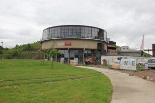 BE Mine site indoor diving center