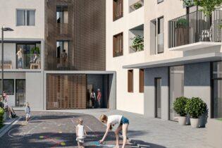 'Menslievendheid' social housing